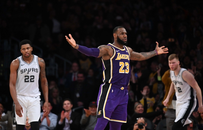 San Antonio Spurs vs. Los Angeles Lakers - 12/7/18 NBA Pick, Odds, and Prediction