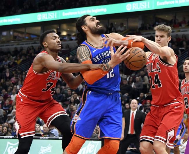 Oklahoma City Thunder vs. Chicago Bulls - 12/17/18 NBA Pick, Odds, and Prediction