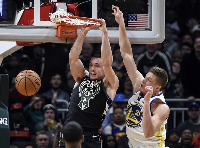 Golden State Warriors vs. Milwaukee Bucks - 1/8/20 NBA Pick, Odds, and Prediction