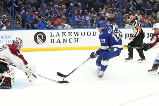 Tampa Bay Lightning vs. Colorado Avalanche - 10/19/19 NHL Pick, Odds, and Prediction