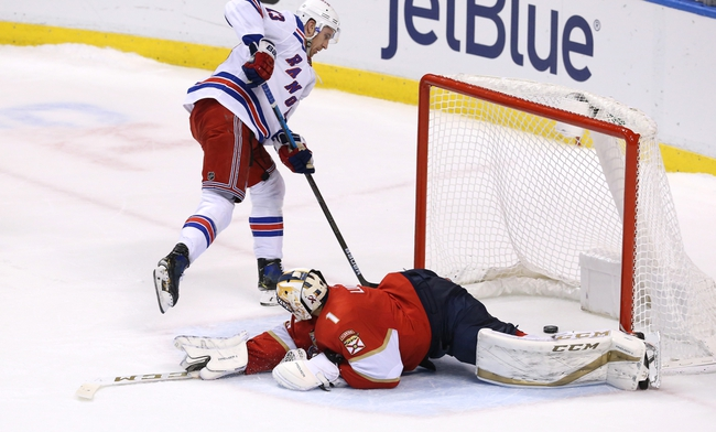 New York Rangers vs. Florida Panthers - 11/10/19 NHL Pick, Odds, and Prediction