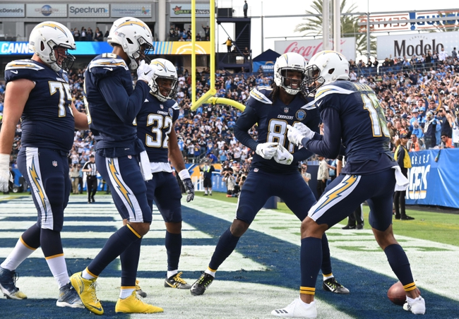 Baltimore Ravens at Los Angeles Chargers - 12/22/18 NFL Pick, Odds, and Prediction