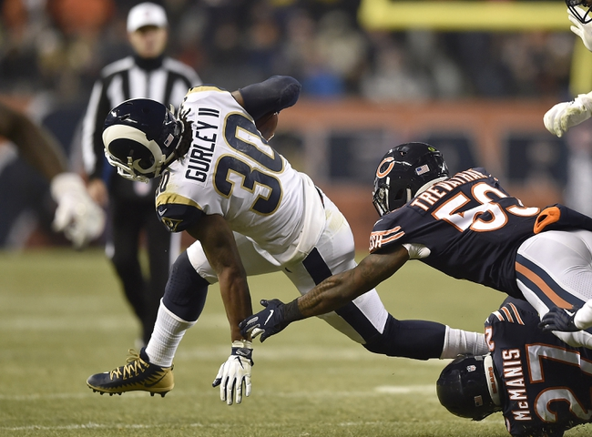 Los Angeles Rams vs. Chicago Bears - 11/17/19 NFL Pick, Odds, and Prediction