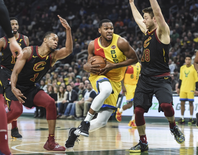 Cleveland Cavaliers vs. Milwaukee Bucks - 12/14/18 NBA Pick, Odds, and Prediction