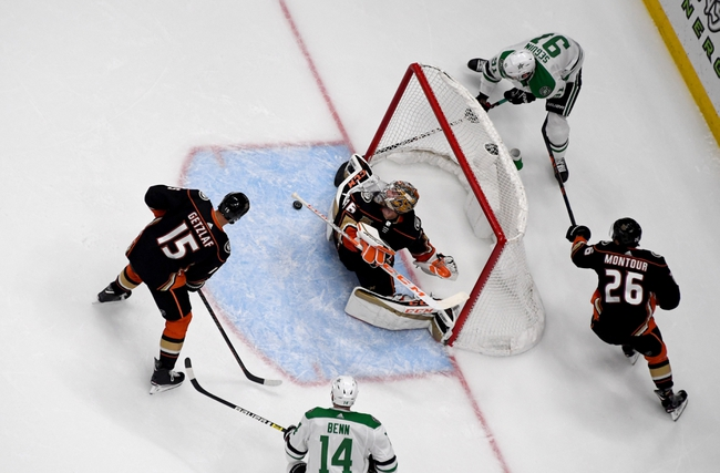 Dallas Stars vs. Anaheim Ducks - 10/24/19 NHL Pick, Odds, and Prediction