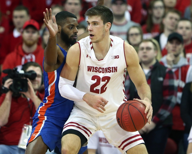 Western Kentucky vs. Wisconsin - 12/29/18 College Basketball Pick, Odds, and Prediction