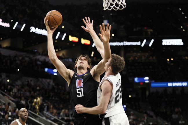 Los Angeles Clippers vs. San Antonio Spurs - 12/29/18 NBA Pick, Odds, and Prediction