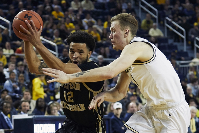 Western Michigan Broncos vs. Oakland Golden Grizzlies  - 12/3/19 College Basketball Pick, Odds, and Prediction