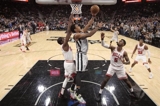 Chicago Bulls vs. San Antonio Spurs - 1/27/20 NBA Pick, Odds, and Prediction