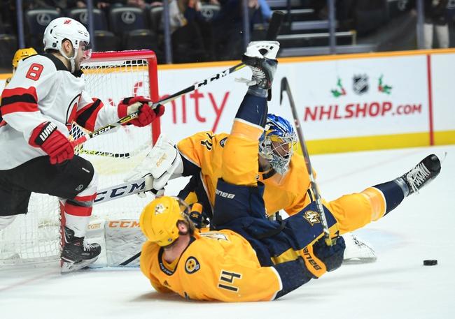 New Jersey Devils vs. Nashville Predators - 1/30/20 NHL Pick, Odds & Prediction