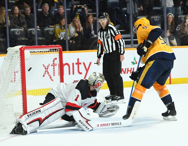 New Jersey Devils vs. Nashville Predators - 1/30/20 NHL Pick, Odds, and Prediction