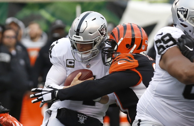 Oakland Raiders vs. Cincinnati Bengals - 11/17/19 NFL Pick, Odds, and Prediction