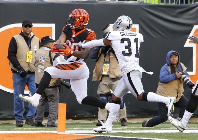 Cincinnati Bengals at Oakland Raiders - 11/17/19 NFL Pick, Odds, and Prediction