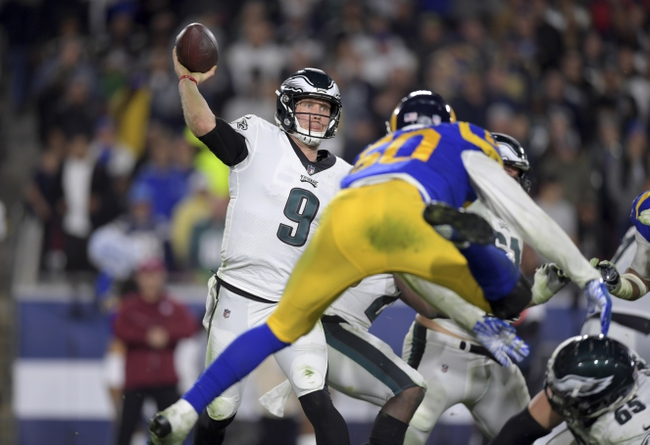 Los Angeles Rams at Philadelphia Eagles - 9/20/20 NFL Pick, Odds, and Prediction