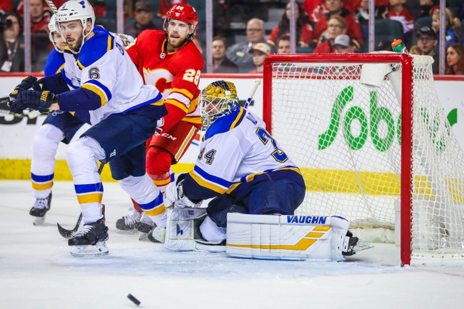 Calgary Flames vs. St. Louis Blues - 11/9/19 NHL Pick, Odds, and Prediction