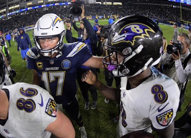 Baltimore Ravens vs. Los Angeles Chargers - 1/6/19 NFL AFC Wild Card Pick, Odds, and Prediction