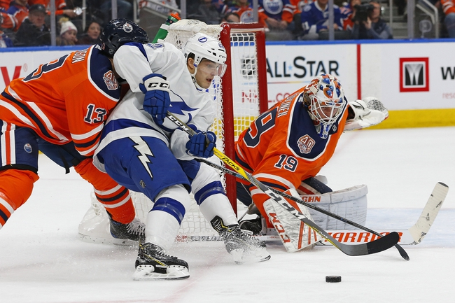 Tampa Bay Lightning vs. Edmonton Oilers - 2/13/20 NHL Pick, Odds, and Prediction