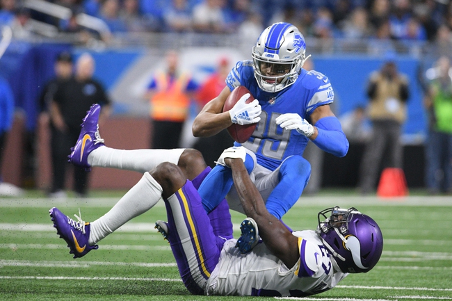Detroit Lions vs. Minnesota Vikings - 10/20/19 NFL Pick, Odds, and Prediction