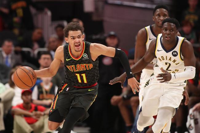 Indiana Pacers vs. Atlanta Hawks - 12/31/18 NBA Pick, Odds, and Prediction
