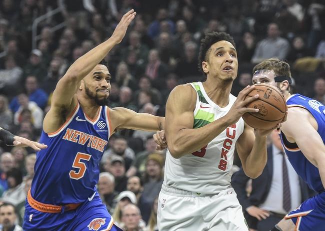 Milwaukee Bucks vs. New York Knicks - 12/2/19 NBA Pick, Odds, and Prediction