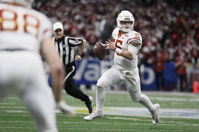 Iowa State vs. Northern Iowa - 8/31/19 College Football Pick, Odds, and Prediction
