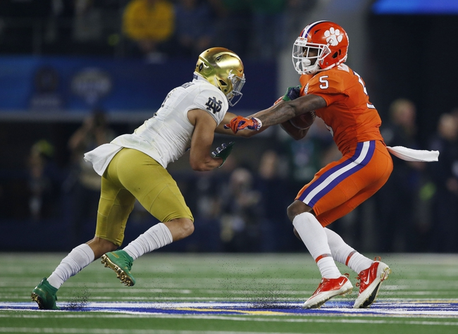 Clemson vs. Notre Dame - 11/7/20 Early Look College Football GOY Pick, Odds, and Prediction