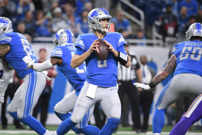 Minnesota Vikings at Detroit Lions - 10/20/19 NFL Pick, Odds, and Prediction