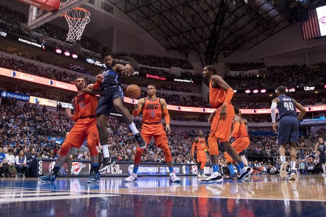 Oklahoma City Thunder vs. Dallas Mavericks - 12/31/18 NBA Pick, Odds, and Prediction