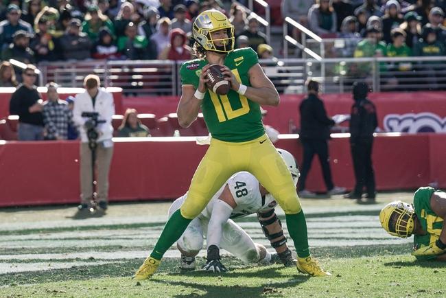 Oregon vs. Auburn - 8/31/19 College Football Pick, Odds, and Prediction