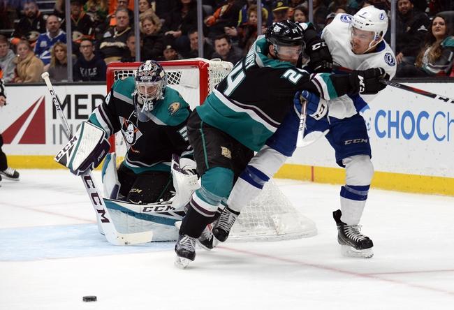 Tampa Bay Lightning vs. Anaheim Ducks - 11/23/19 NHL Pick, Odds, and Prediction