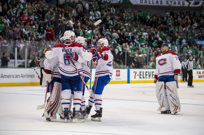 Dallas Stars vs. Montreal Canadiens - 11/2/19 NHL Pick, Odds, and Prediction