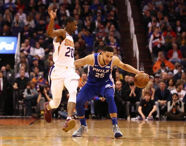 Phoenix Suns vs. Philadelphia 76ers - 11/4/19 NBA Pick, Odds, and Prediction