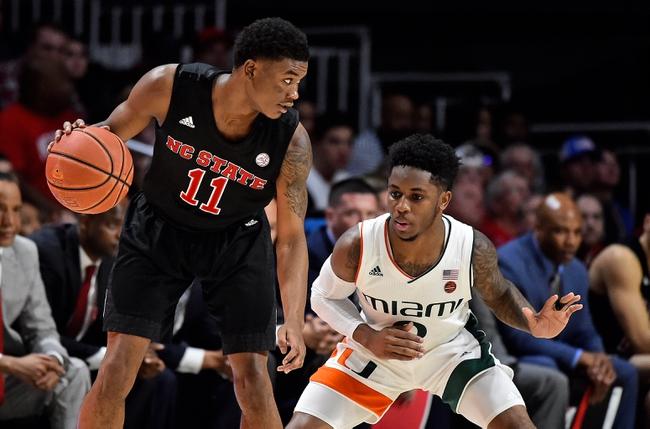 Miami vs. North Carolina State  - 2/5/20 College Basketball Pick, Odds, and Prediction