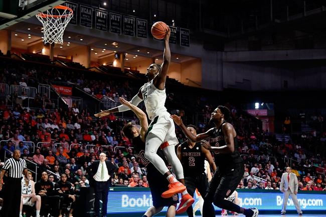North Carolina State vs. Miami - 1/15/20 College Basketball Pick, Odds, and Prediction