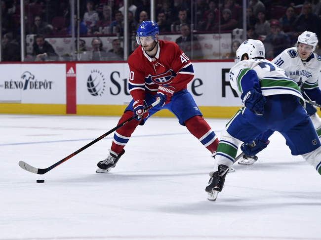 Vancouver Canucks vs. Montreal Canadiens - 12/17/19 NHL Pick, Odds, and Prediction