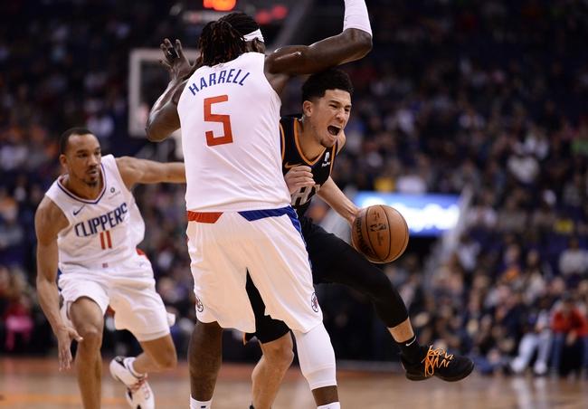 Devin Booker vs. Montrezl Harrell - 4/11/20 NBA 2K Players Tournament Pick, Odds, and Prediction