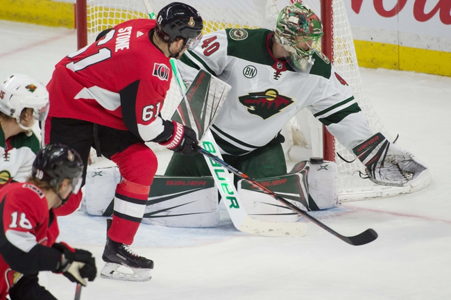 Ottawa Senators vs. Minnesota Wild - 10/14/19 NHL Pick, Odds, and Prediction