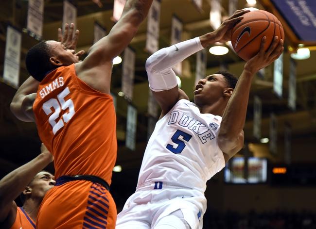 Clemson vs. Duke - 1/14/20 College Basketball Pick, Odds, and Prediction