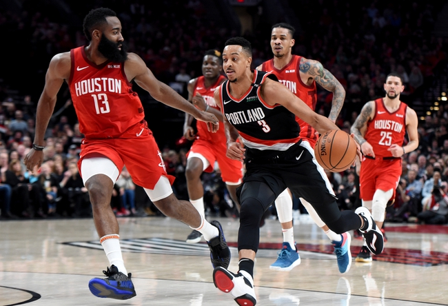 Houston Rockets vs. Portland Trail Blazers - 11/18/19 NBA Pick, Odds, and Prediction