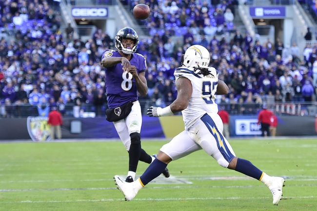 Los Angeles Chargers vs. Baltimore Ravens - 6/14/20 Madden 20 Sim NFL Pick, Odds, and Prediction