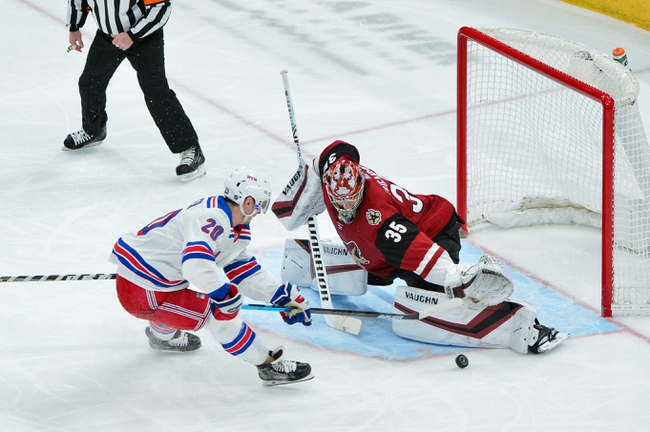 New York Rangers vs. Arizona Coyotes - 10/22/19 NHL Pick, Odds, and Prediction