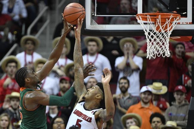Miami vs. Louisville - 11/5/19 College Basketball Pick, Odds, and Prediction