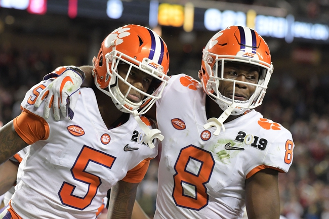 Clemson vs. Charlotte - 9/21/19 College Football Pick, Odds, and Prediction