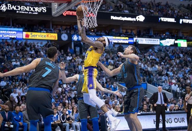 Dallas Mavericks vs. Los Angeles Lakers - 11/1/19 NBA Pick, Odds, and Prediction