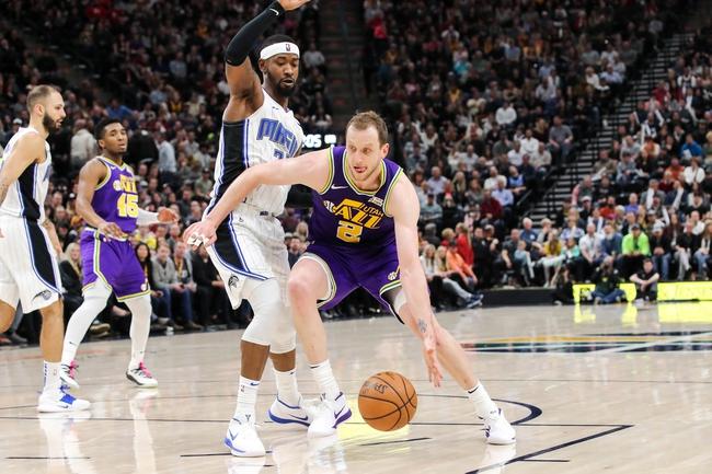 Utah Jazz vs. Orlando Magic - 12/17/19 NBA Pick, Odds, and Prediction