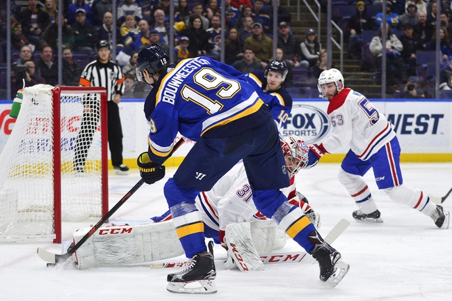 Montreal Canadiens vs. St. Louis Blues - 10/12/19 NHL Pick, Odds, and Prediction