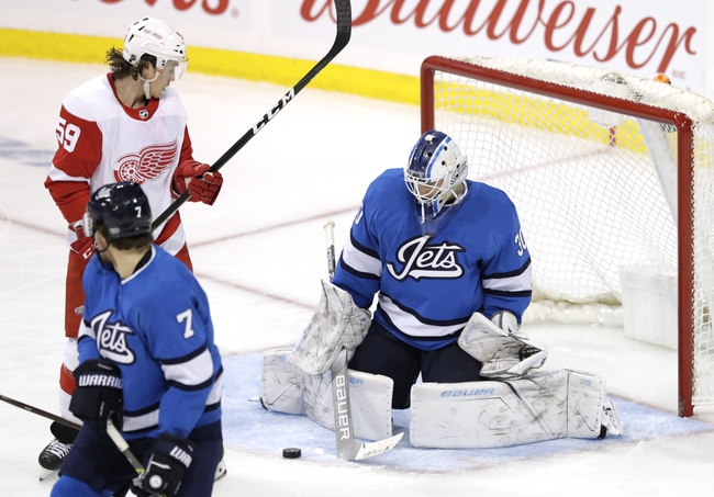 Winnipeg Jets vs. Detroit Red Wings - 12/10/19 NHL Pick, Odds, and Prediction
