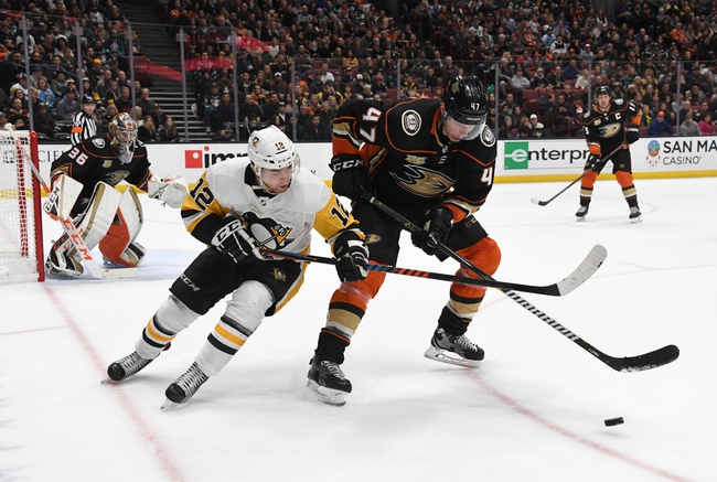 Pittsburgh Penguins vs. Anaheim Ducks - 10/10/19 NHL Pick, Odds, and Prediction