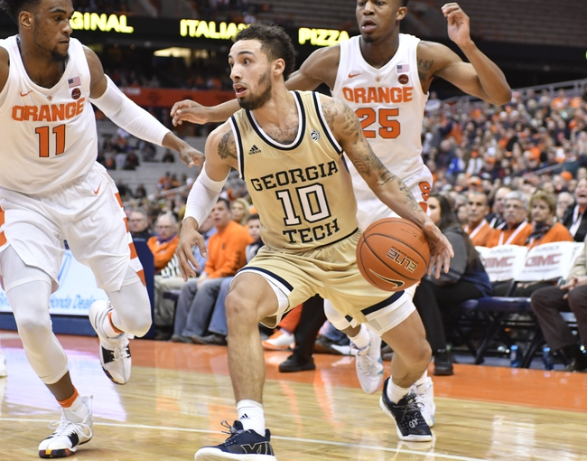 Syracuse vs. Georgia Tech - 2/22/20 College Basketball Pick, Odds, and Prediction