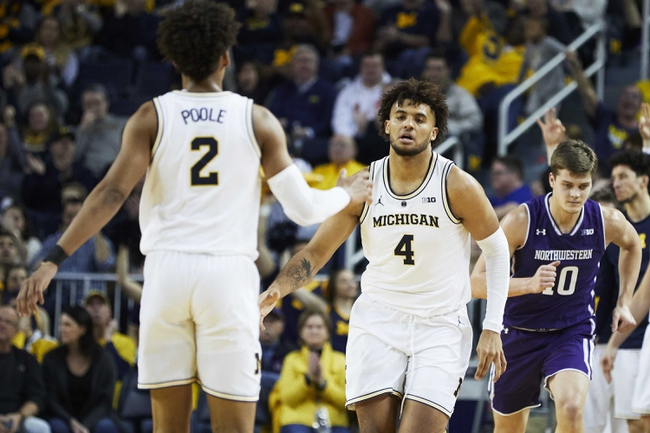 Northwestern vs. Michigan - 2/12/20 College Basketball Pick, Odds, and Prediction